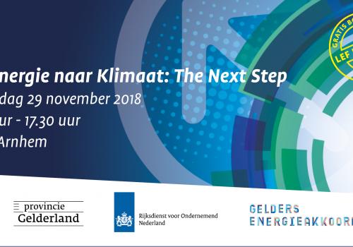 Uitnodiging Van Energie naar Klimaat: The Next Step