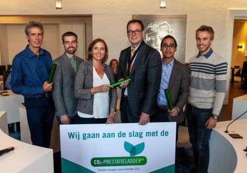 Barneveld als tweede gemeente in Nederland gecertificeerd op de CO2-Prestatieladder