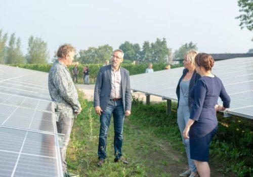 Varkensstallen maken plaats voor zonne-energie