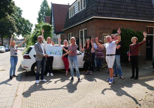 Straat uit Renkum winnaar van de wedstrijd Auto van de Straat