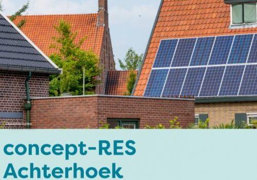 Concept-RES Achterhoek gepresenteerd: Samen d'ran voor duurzame regio