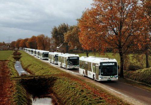 Busvervoerder introduceert 246 elektrische bussen