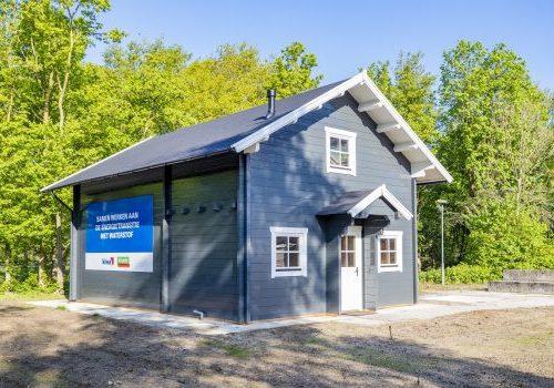 Kiwa en Alliander openen eerste waterstof-demohuis in Nederland