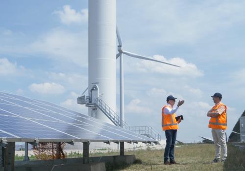 GEA-ontmoeting op windpark Avri