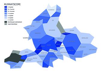 Wageningen, Rheden en Zutphen meest klimaatbestendige gemeentes van Gelderland