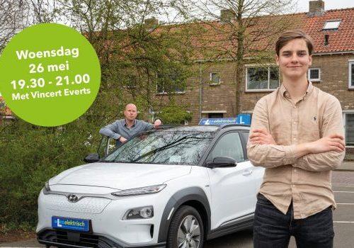 Project Les Elektrisch in Gelderland: Direct na het rijbewijs een elektrische auto rijden?