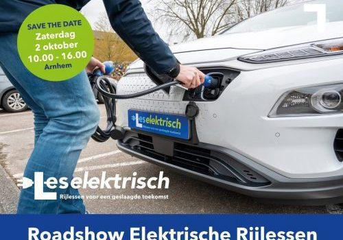 Zaterdag 2 oktober: Roadshow Les Elektrisch