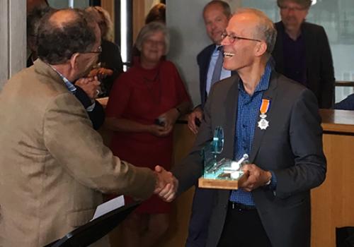 Gelderse Klimaatprijs voor scheidend directeur GNMF Volkert Vintges